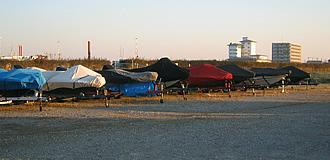 砂砂利駐艇所
